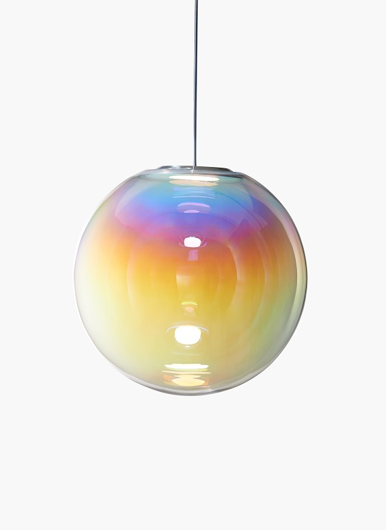 Iris soap-bubble-like pendant light from Neo/Craft