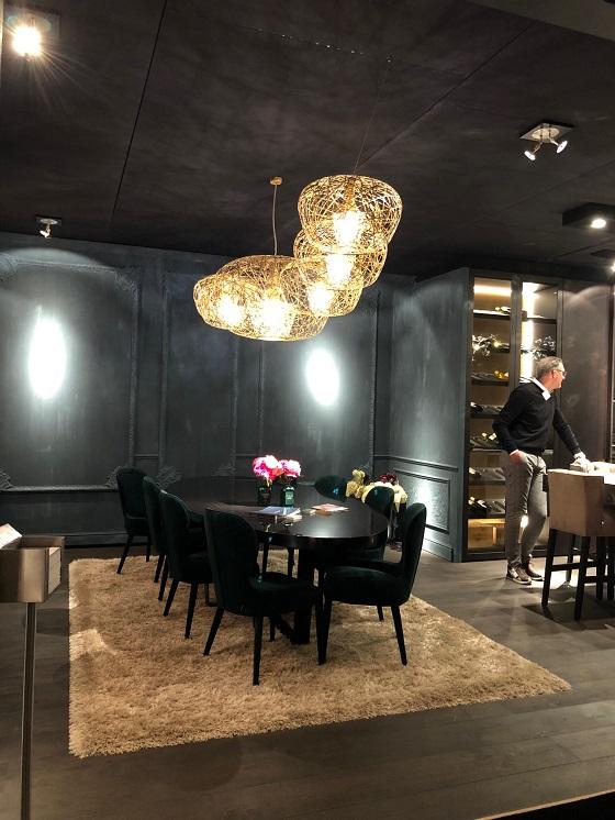 Haute Couture bespoke chandelier from Artelier C