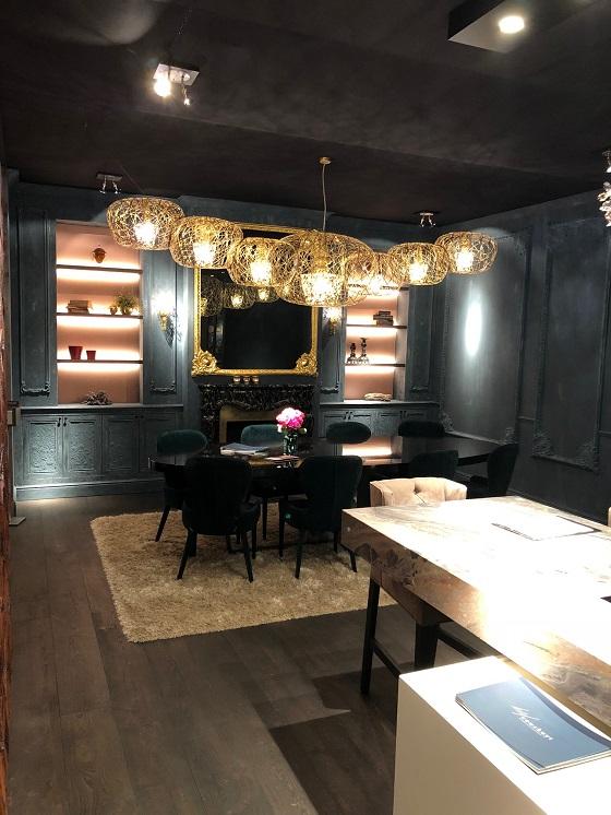 Haute Couture Carbon chandelier from Artelier C