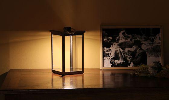 CVube cordless lantern from Estro indoors