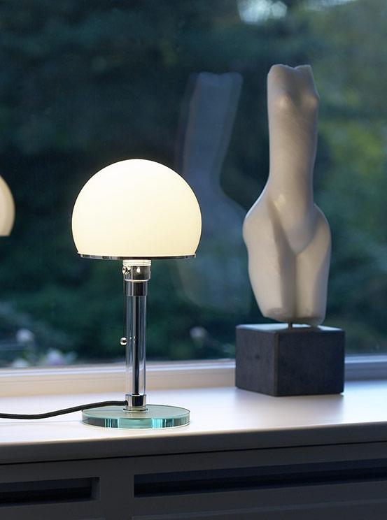 wg24 table light by Wilhelm Wagenfeld from Tecnolumen