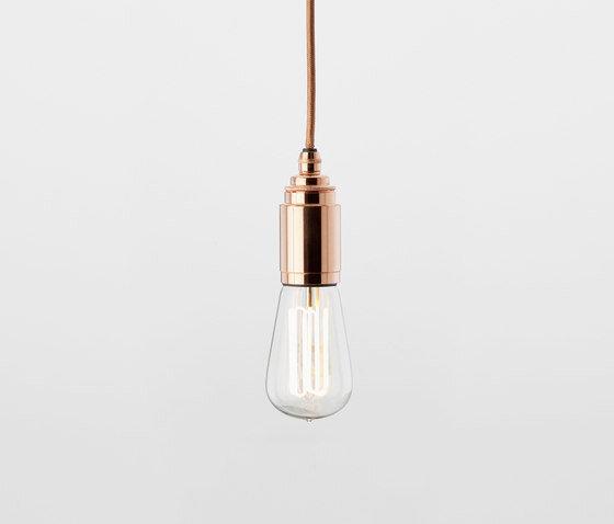 tekna nautic thorn pete-grip-pendant light in copper