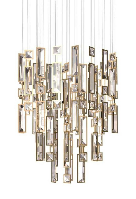 Windfall Downtown contemporary crystal Chandelier