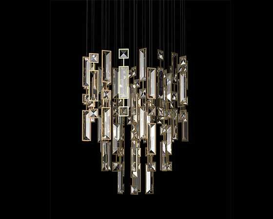 Windfall Downtown crystal chandelier