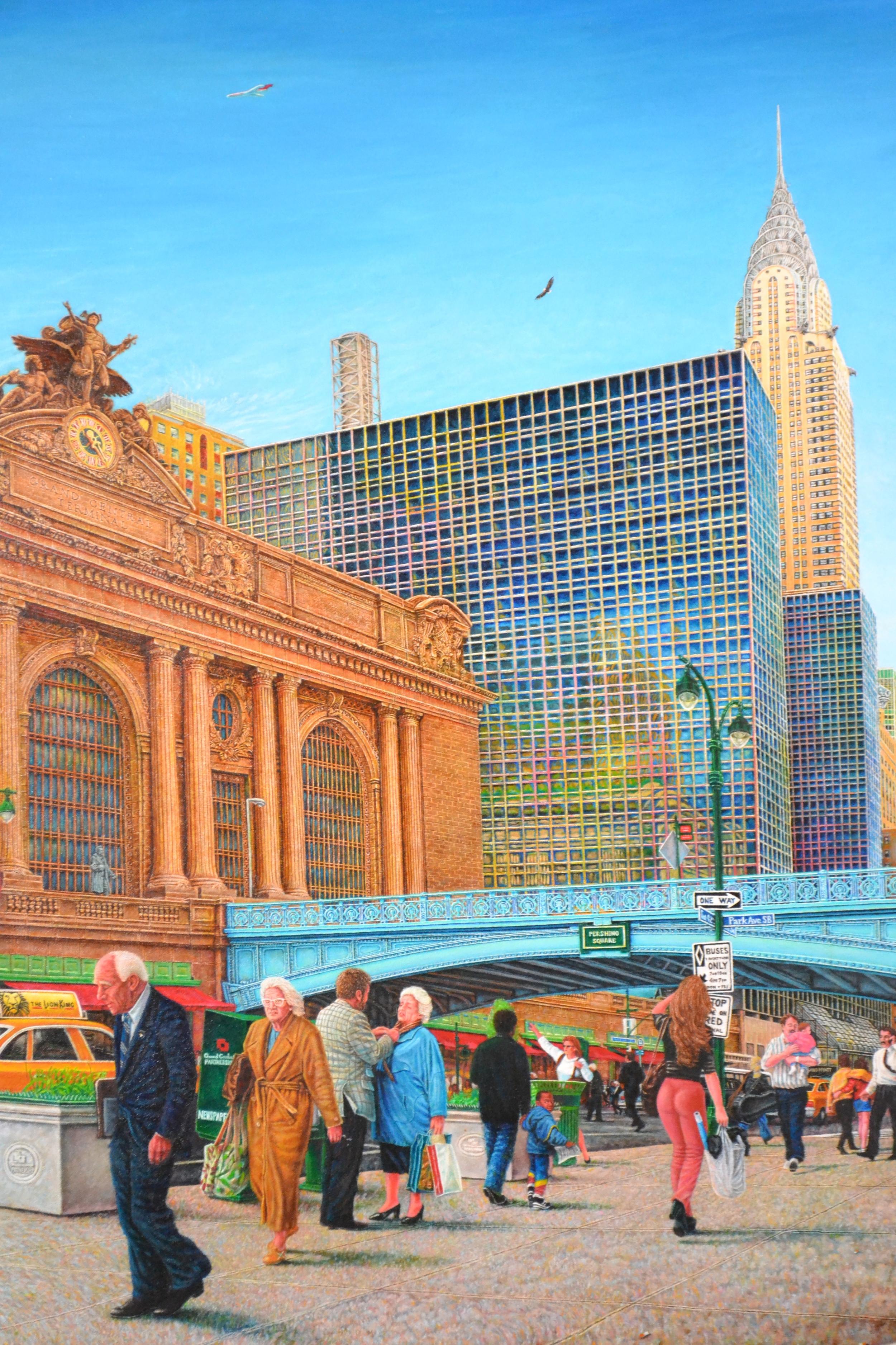 Grand Central  2000  40x30  oil