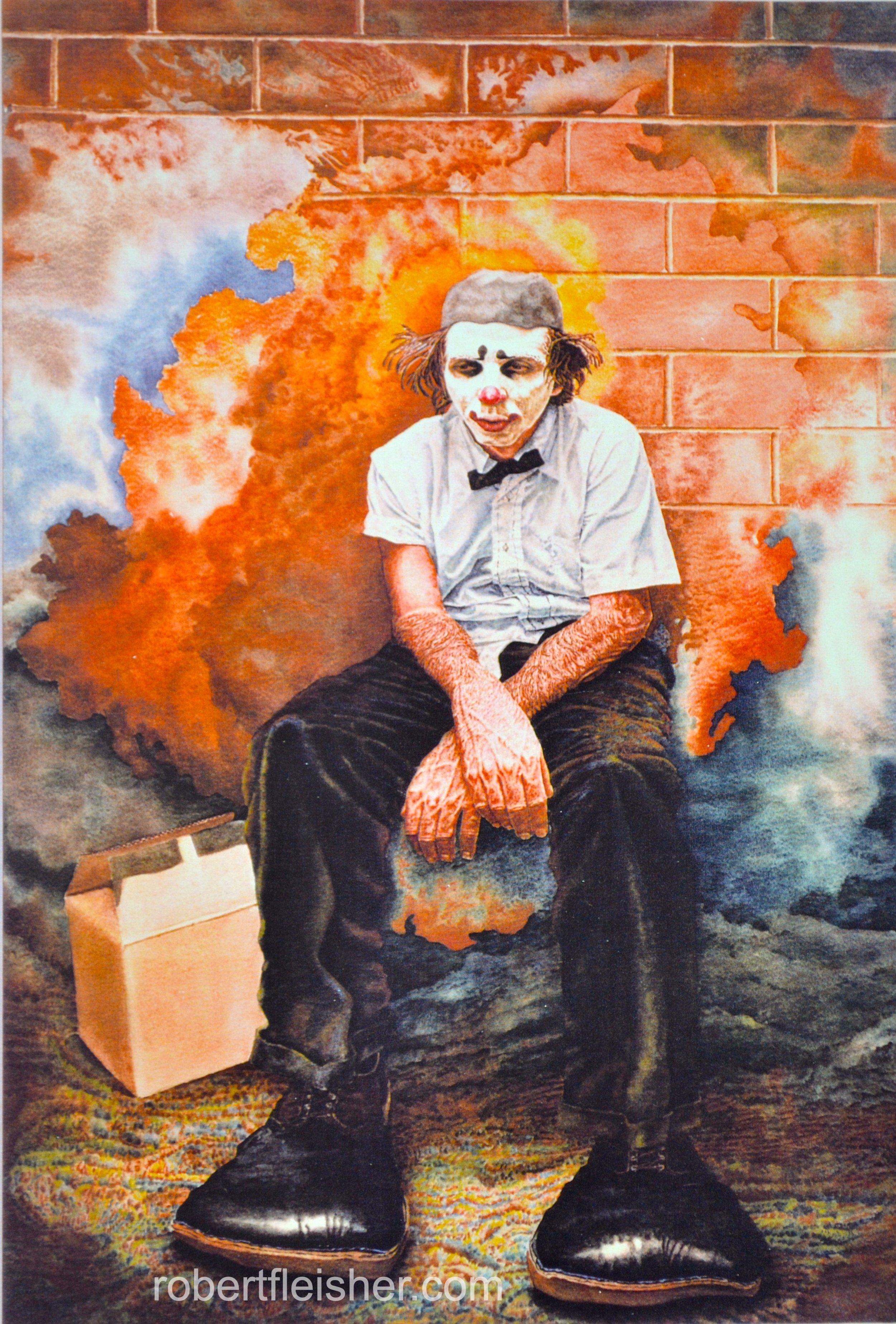 Buffo   1975   40x30   watercolor