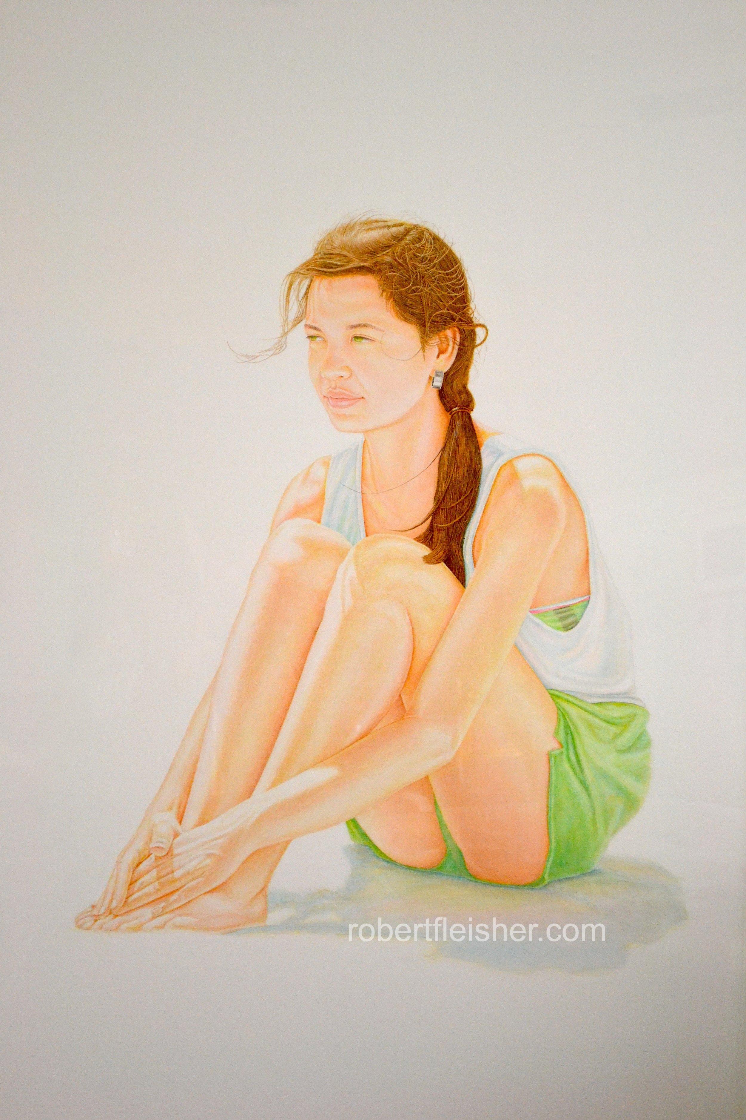 Fiona   1988   40x30   watercolor