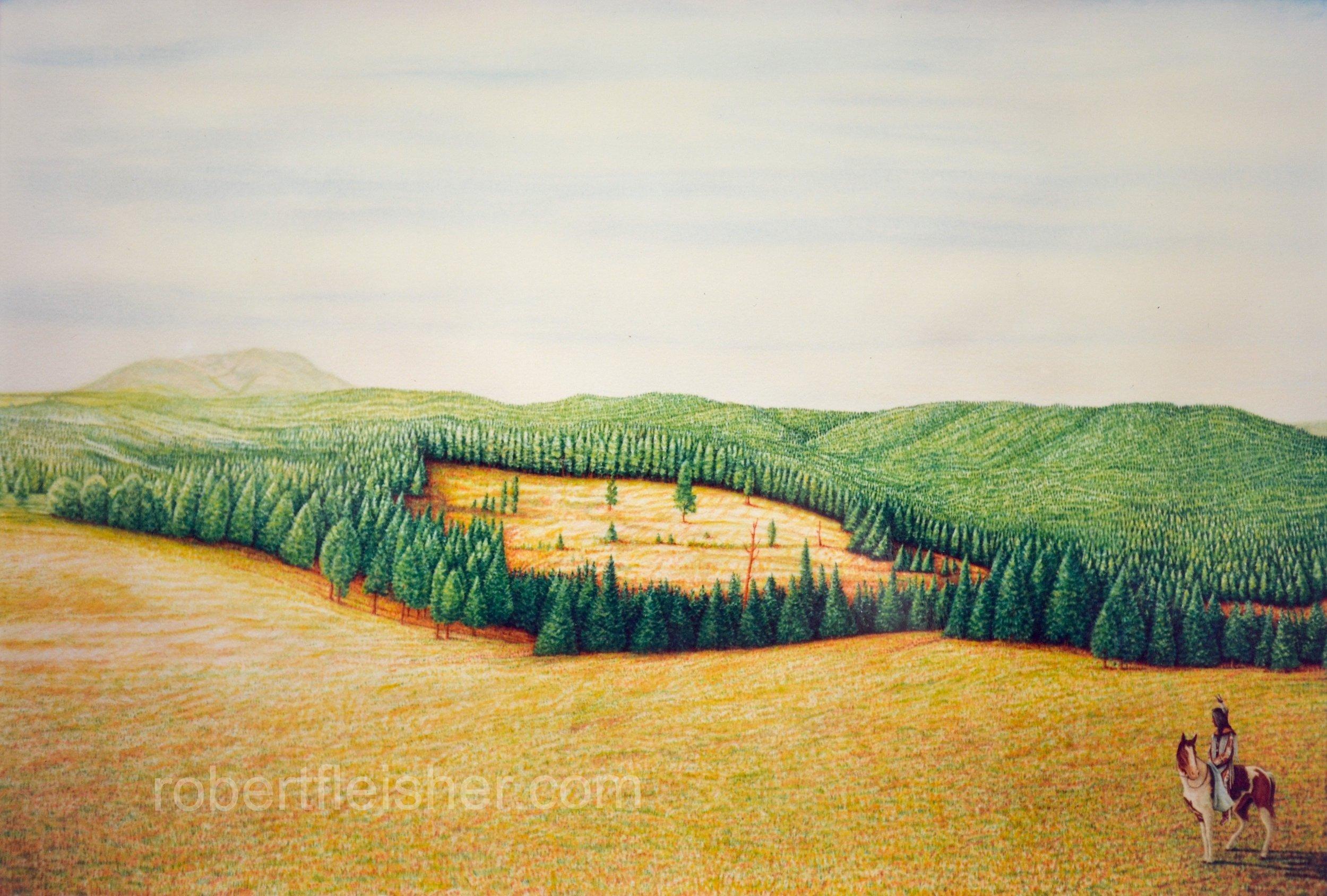 Montana   1994   60x40   watercolor