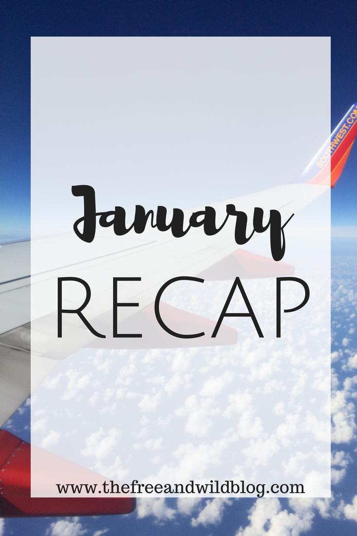January Recap // The Free & Wild Blog