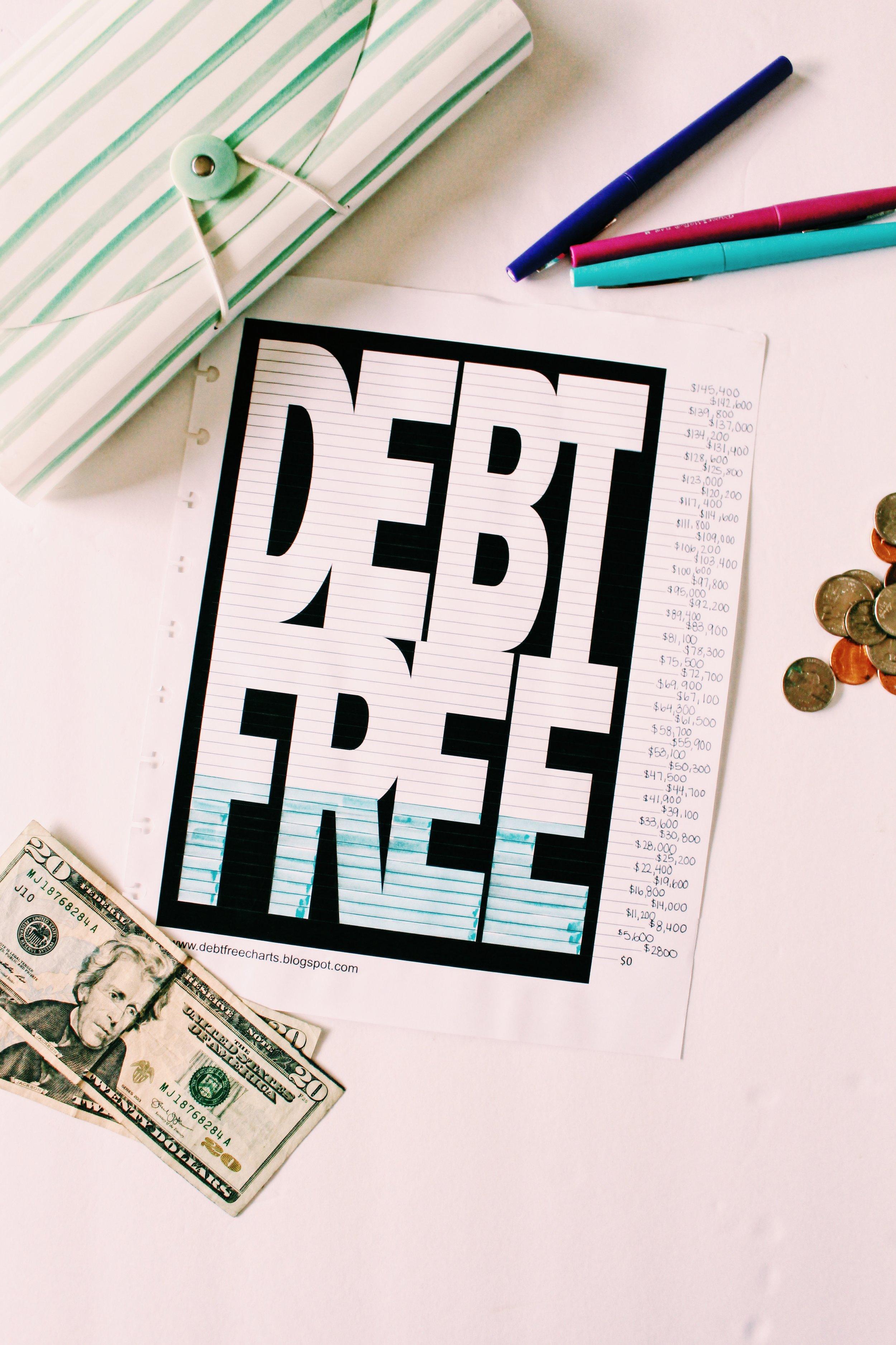 FREE Budget Printables // Hey, Annie Demm