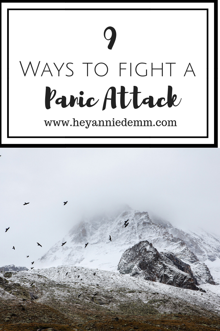 9 Ways to Fight a Panic Attack // Hey, Annie Demm