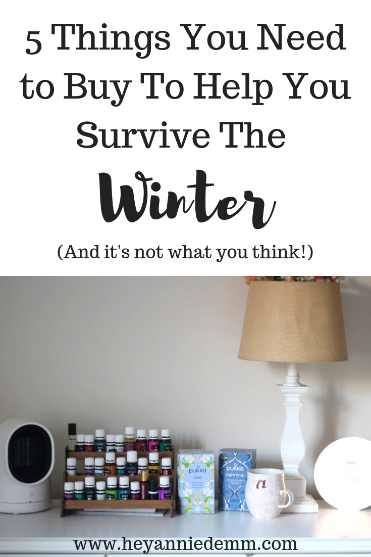 5 Things You Need To Buy To Survive The Winter// Hey, Annie Demm