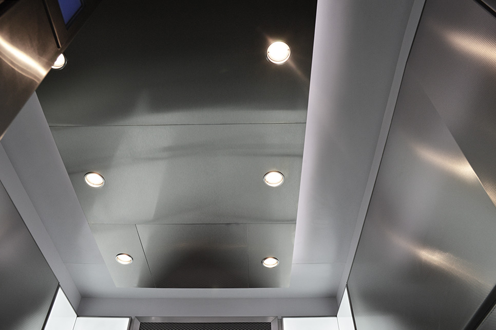 Drop Ceiling: Faced with Stainless Steel #4