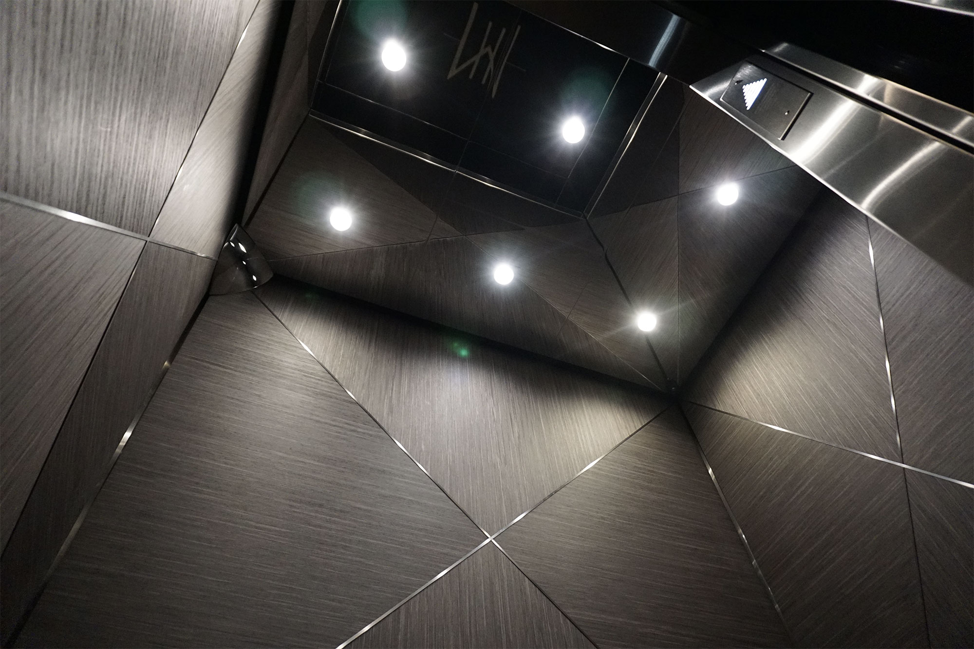 Drop Ceiling: Faced with Stainless Steel #8