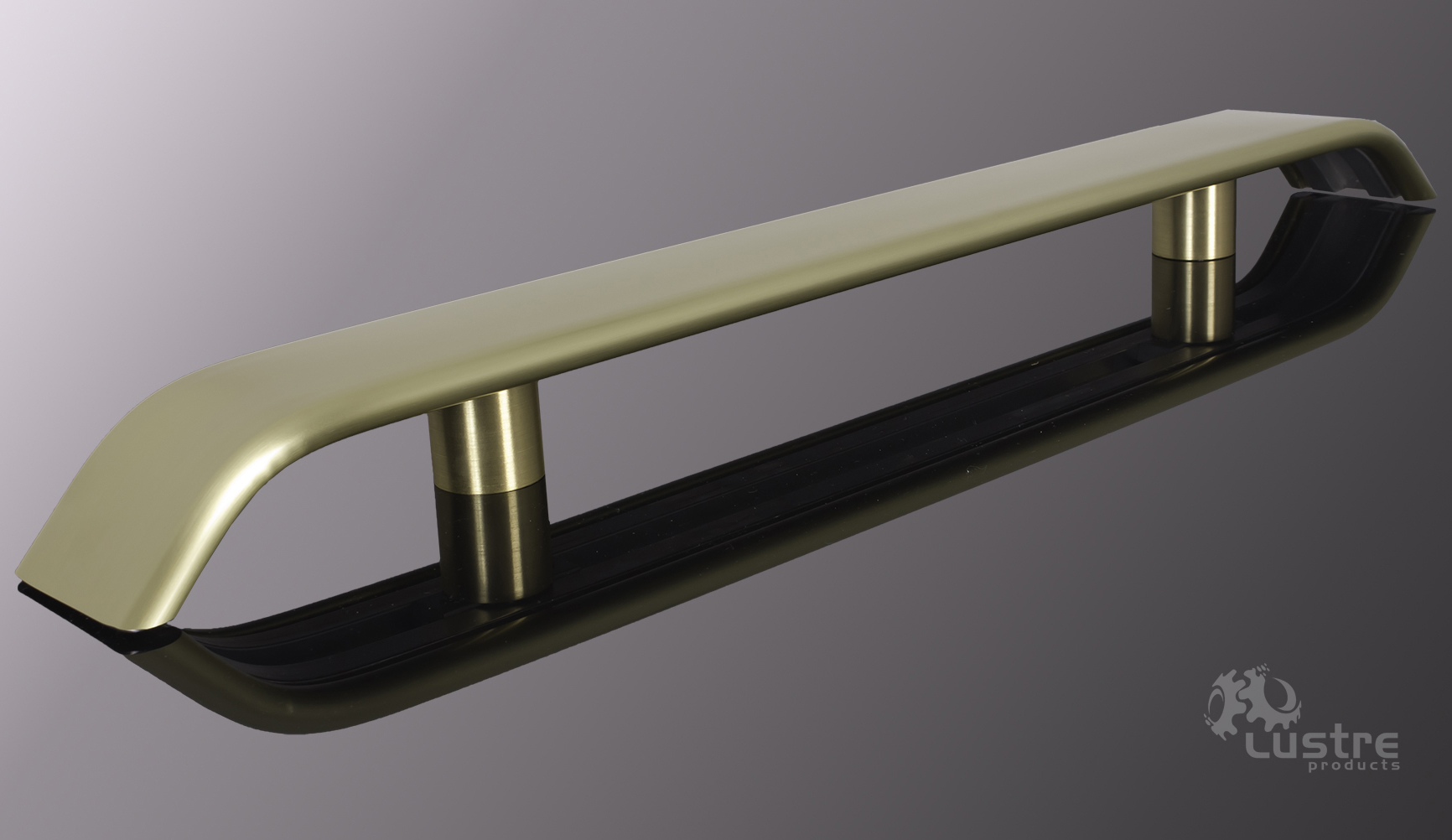 "3.0"" Extruded Yellow Brass #4 - Brushed"