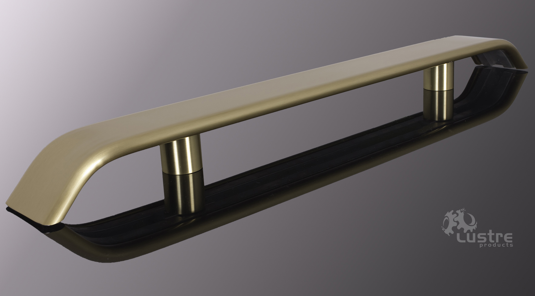 "3.0"" Extruded Bronze/Steel #4 - Brushed"
