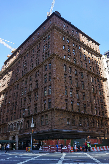the Osborne apartments -
