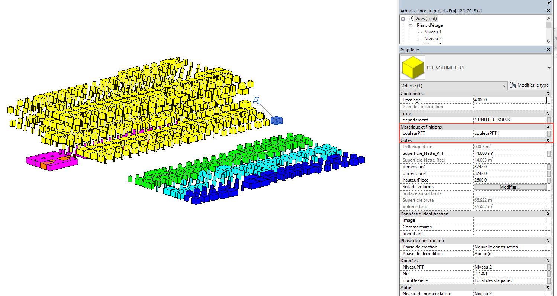 Création de plus de 1000 volumes avec les données. Imaginez faire cela à la main.