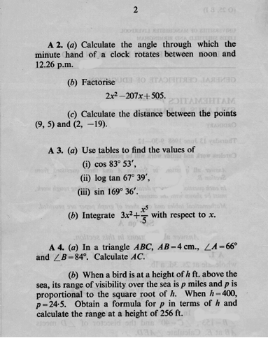 1968 O level page 2.png