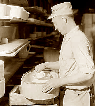 Southern Blue Ridge Potteries, founded 1916.