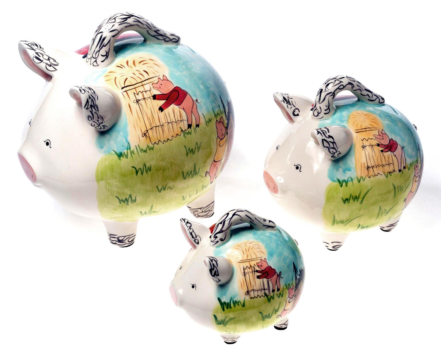 Three Little Pigs Family