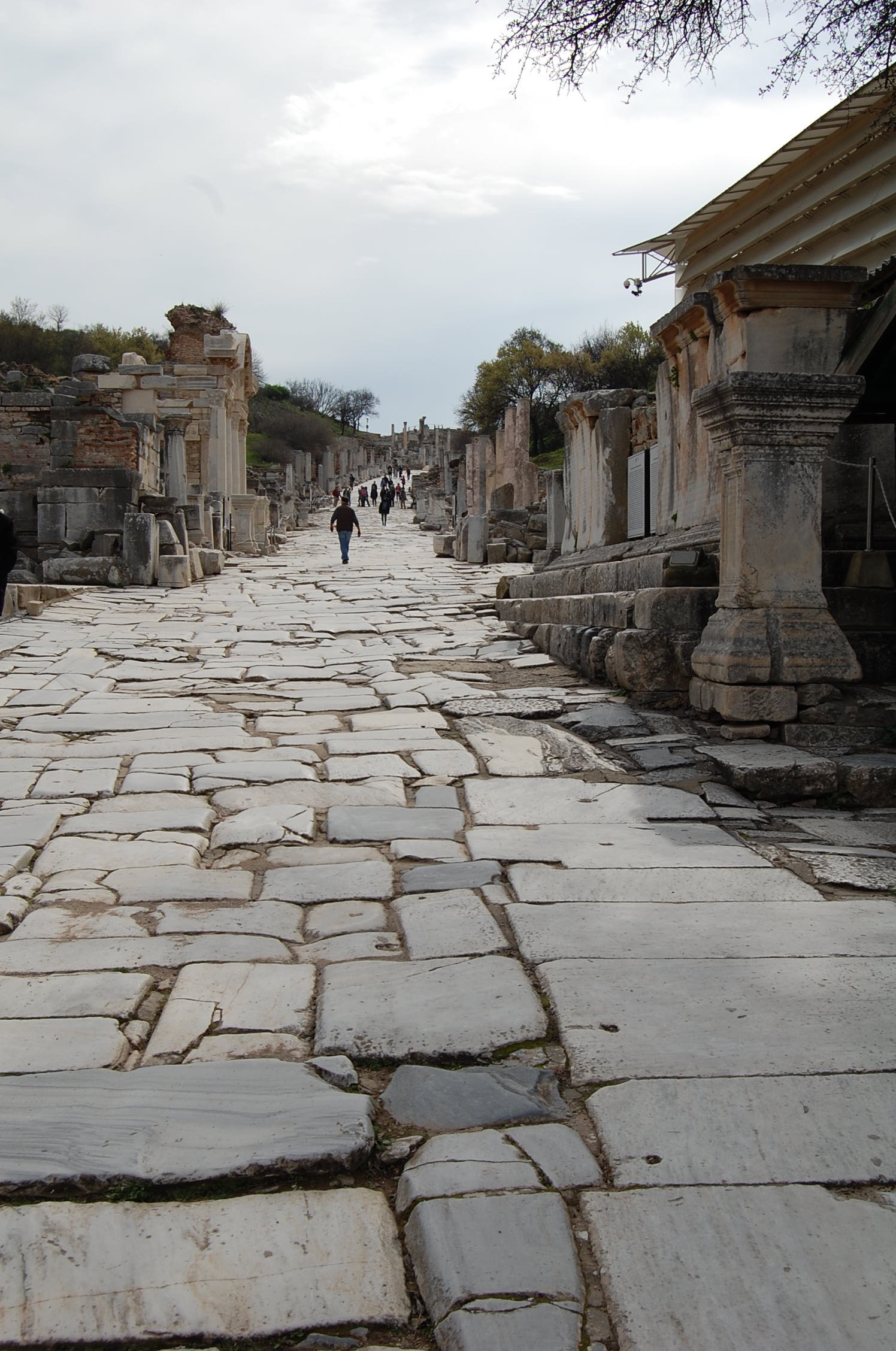 Streets of Ephesus - Ancient ruins, like passing moments of running thoughts..