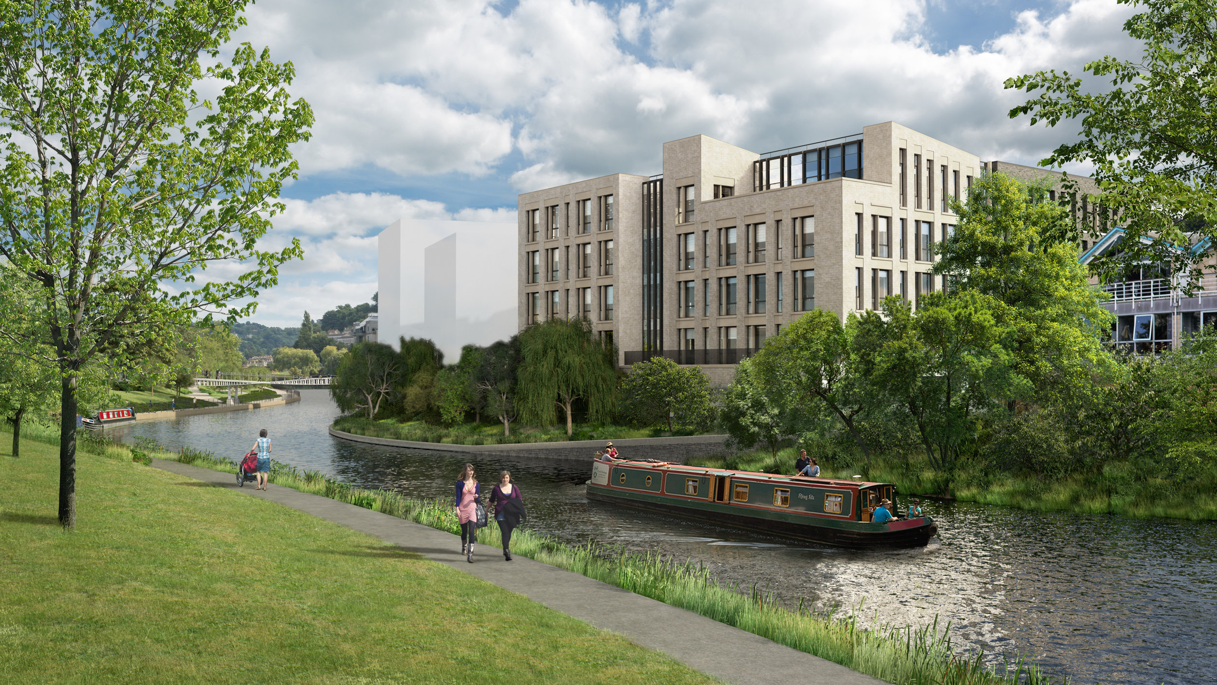 Bath Quays South new office building