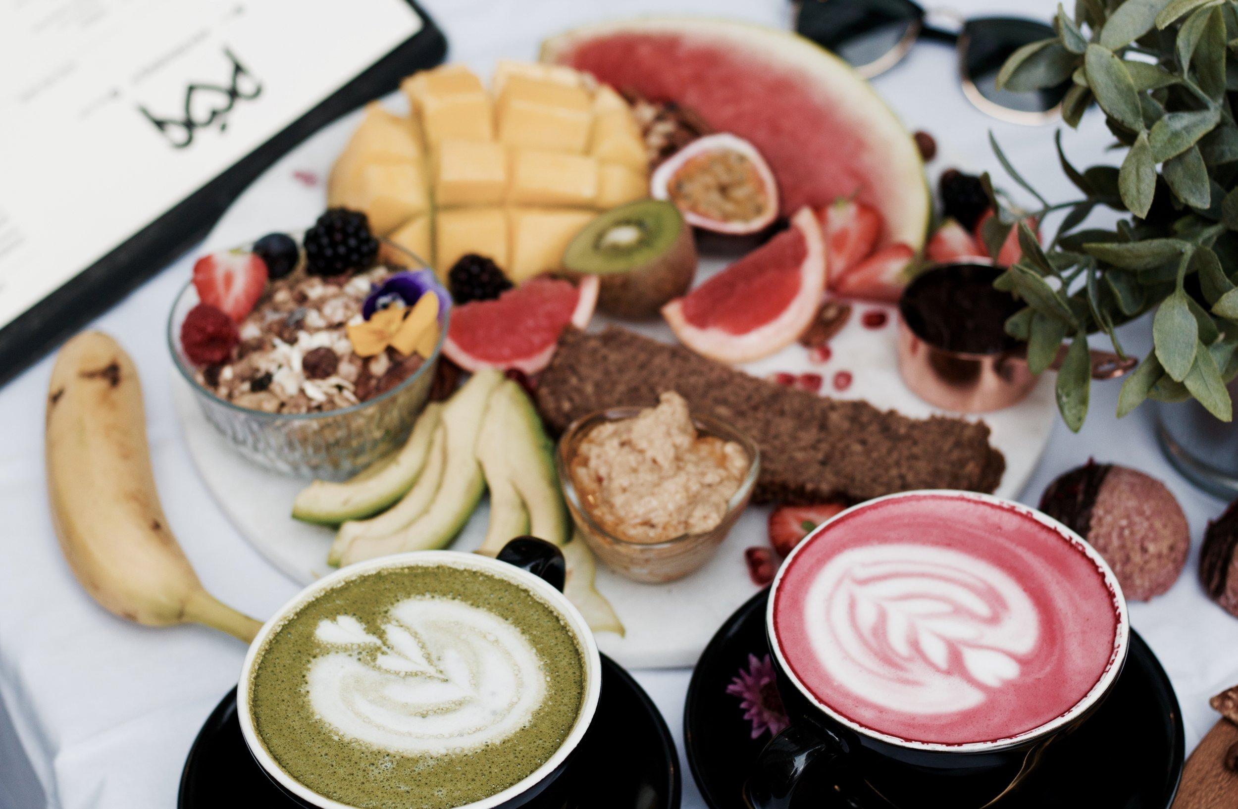 Vegan breakfast board