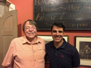 Bob with Stephen Darley