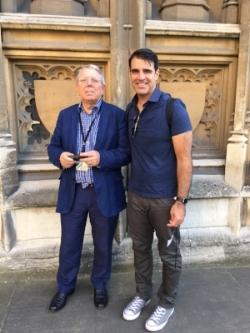 Sir Alan Meale with Bob Crawford