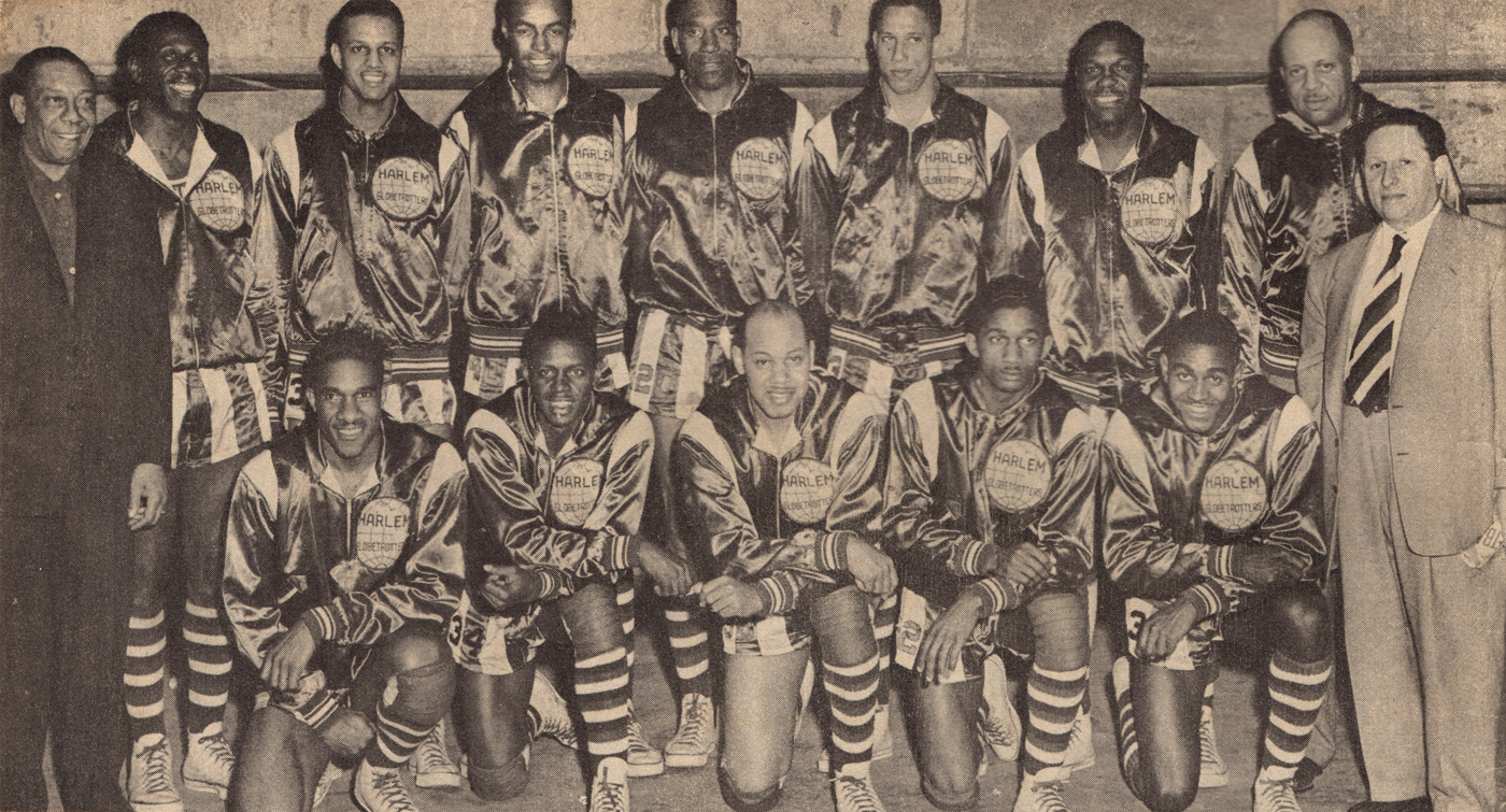 The Harlem Globetrotters in 1950.