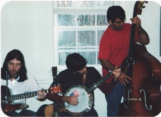 The Avett Brothers in November 2001