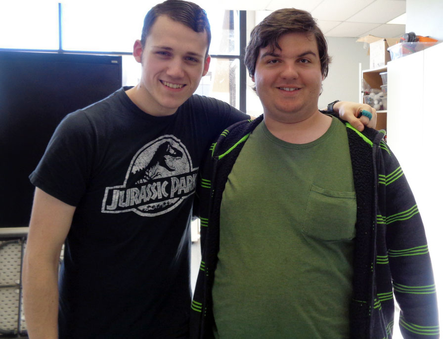 JD and Daniel Ch pause for a photo at SEEDs for Autism