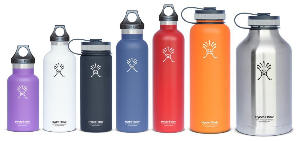 """From """"large"""" to """"building a homemade bomb,"""" Hydro Flasks come in all shapes and sizes."""