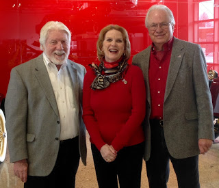 """Wm. """"Red"""" Lewis, Kathy and Lee Anderson"""