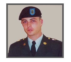 United States Army Sgt. Ken Hess, 26, Asheville , NC