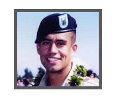 United States Army  1st Lt. Nainoa Hoe