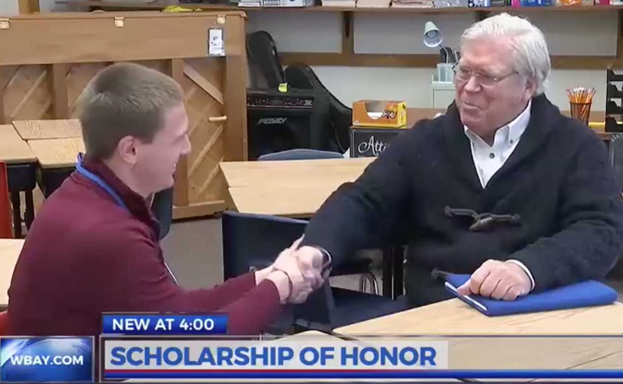 Riley and Bill WBAY interview.png