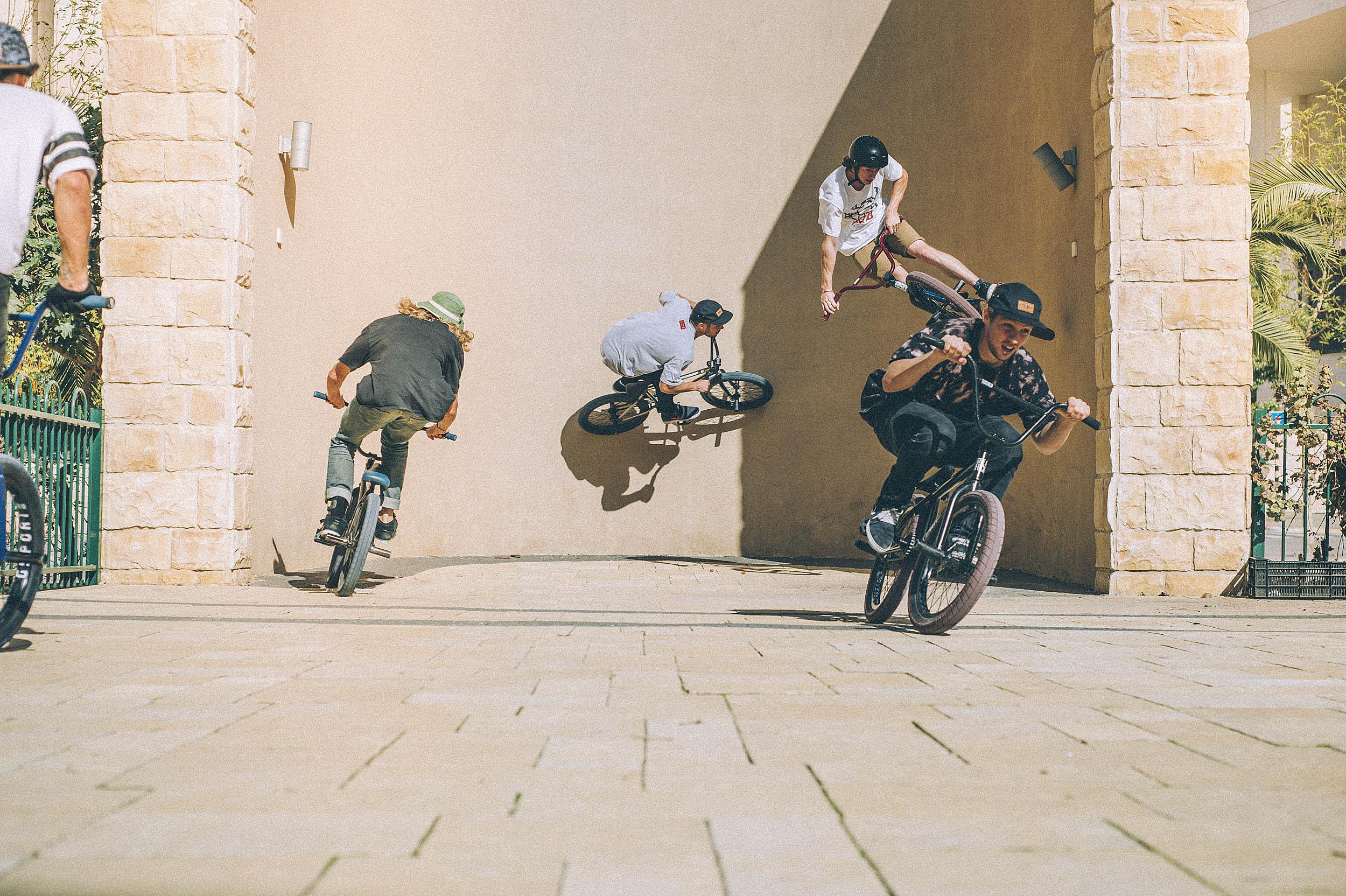 BSD team for DIG BMX Magazine - Ashdod, Israel