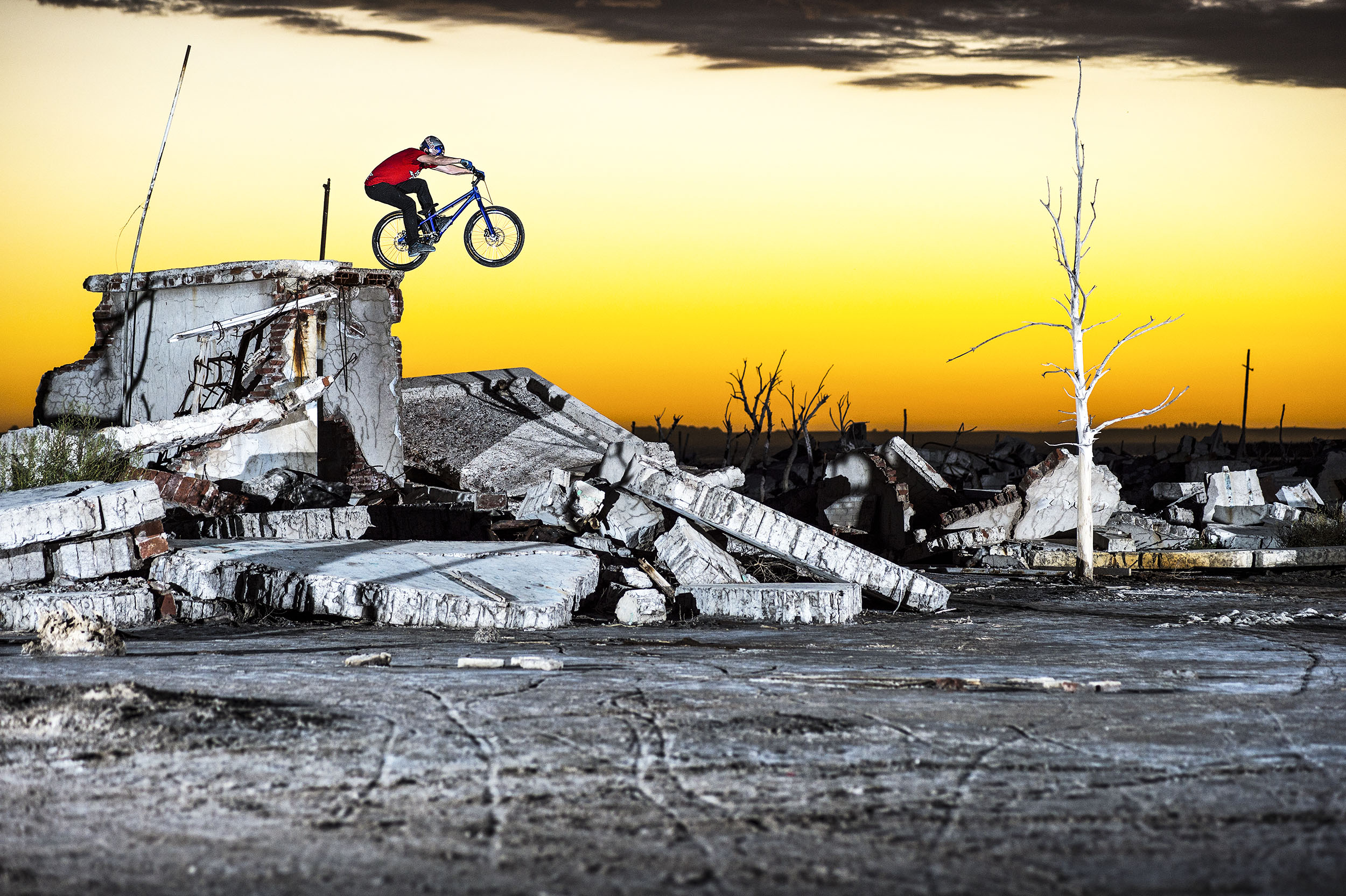 Danny MacAskill for Red Bull - Epecuen, Argentina