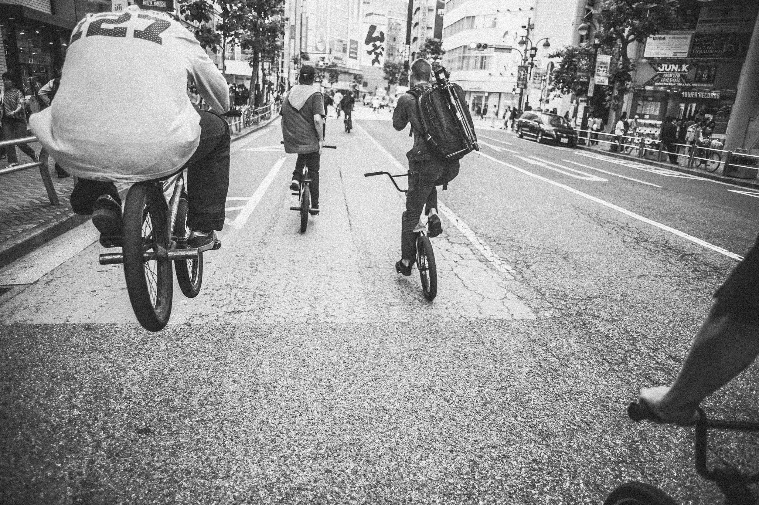 Jay Bean for DIG BMX - Tokyo, Japan