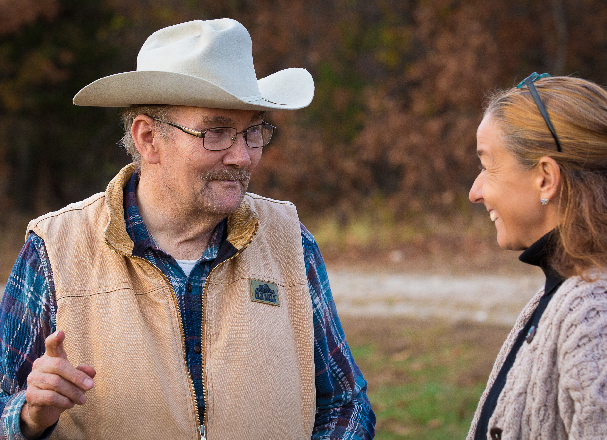 Tom Norush and Kelly in Missouri for the Horse of the Americas national meeting in 2015