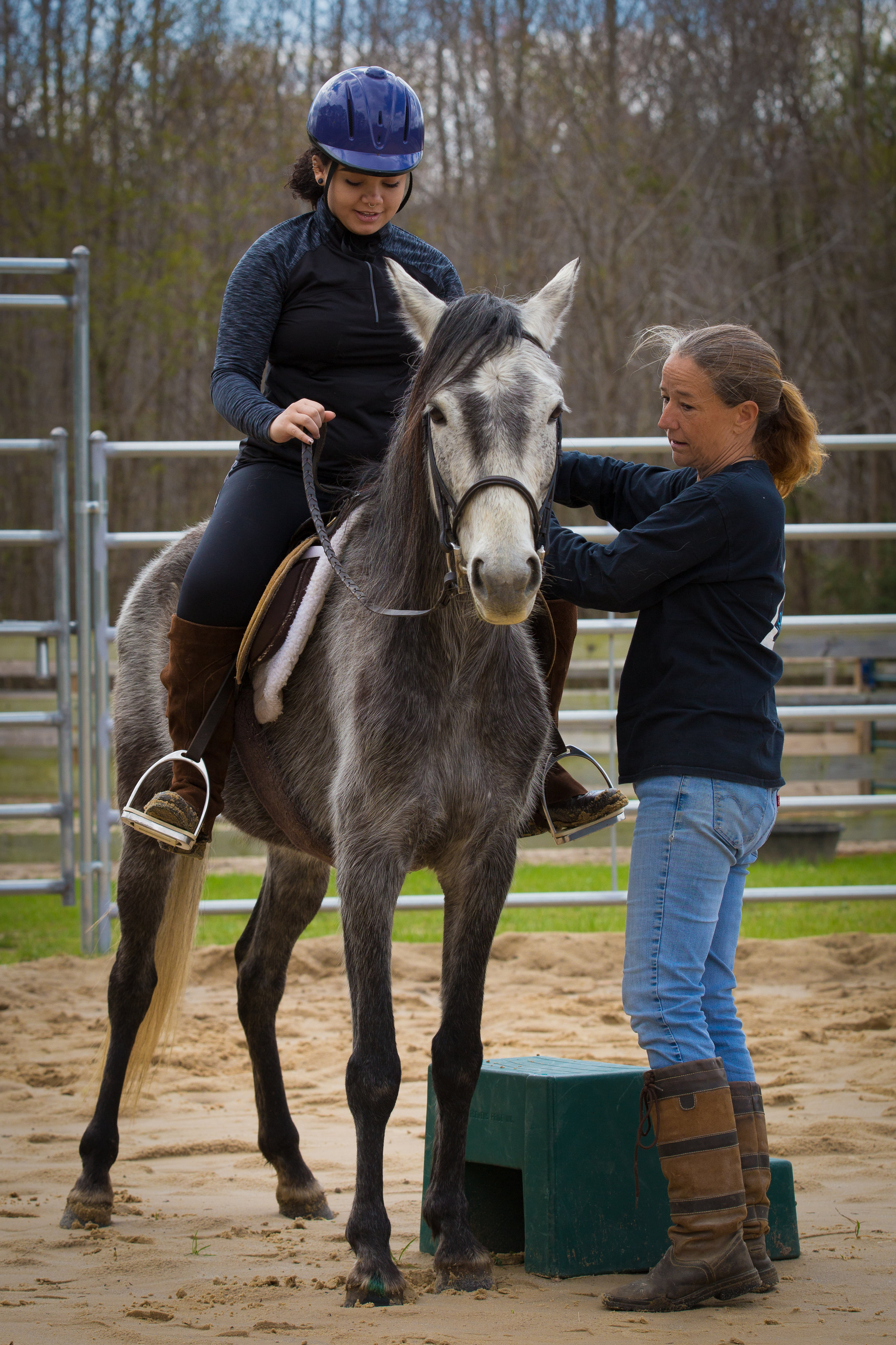 Riding is relationship and good relationships are built slowly with trust over time.