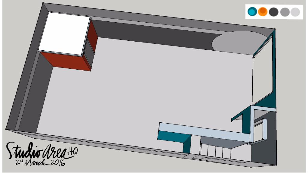 The Studio Area