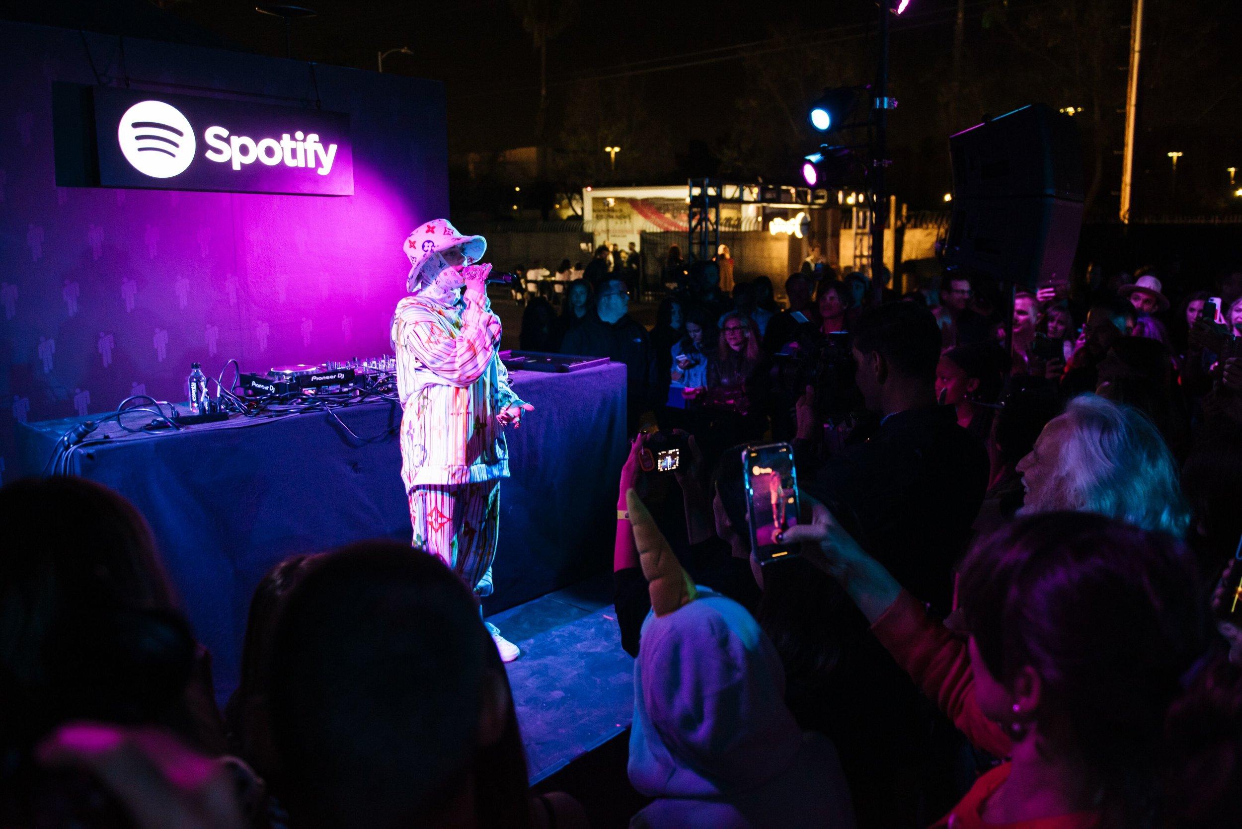 Billie Eilish Experience by Spotify  — Skylight at ROW DTLA