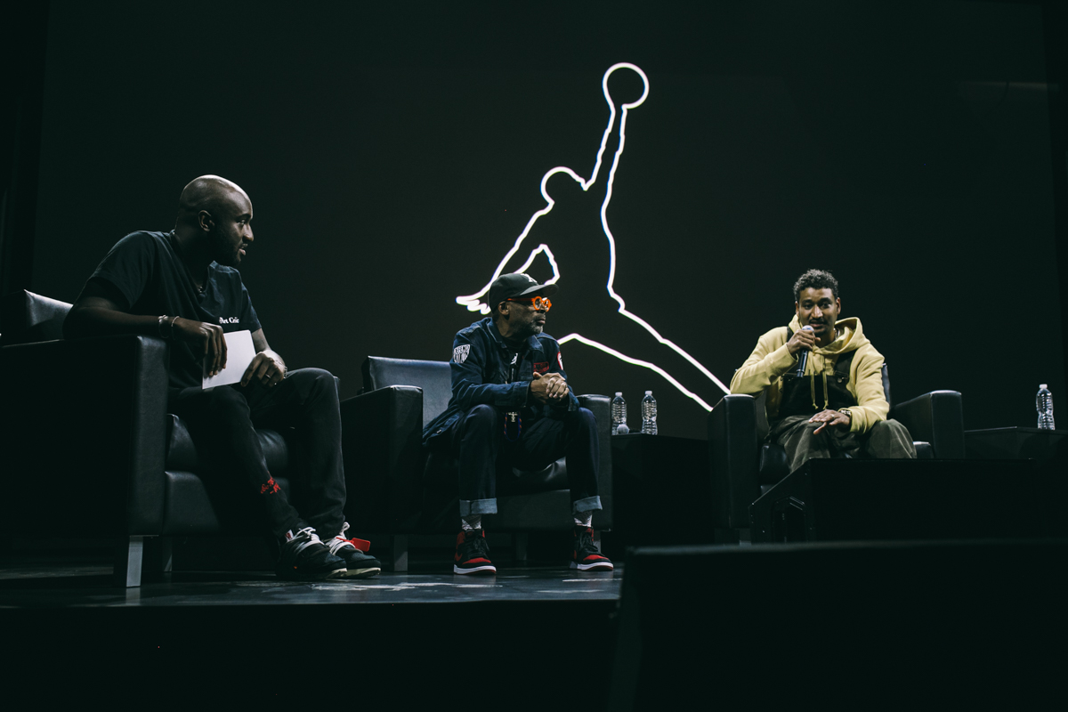 """Virgil Abloh for Nike """"Off Campus""""  — Skylight at 23 Wall"""