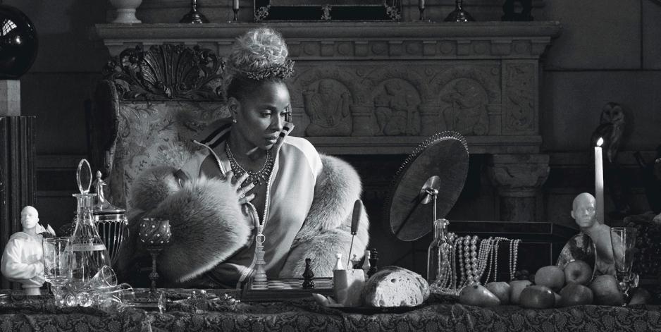 Mary J. Blige for W Magazine  — Skylight One Hanson