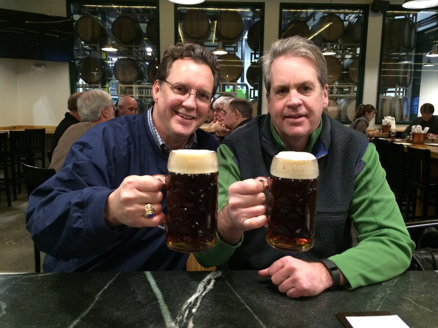 Mike & Mark - Cheers!