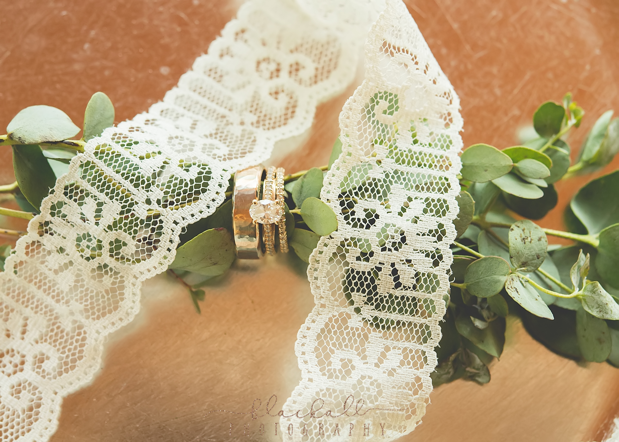 Who doesn't love a little lace with their bling?!