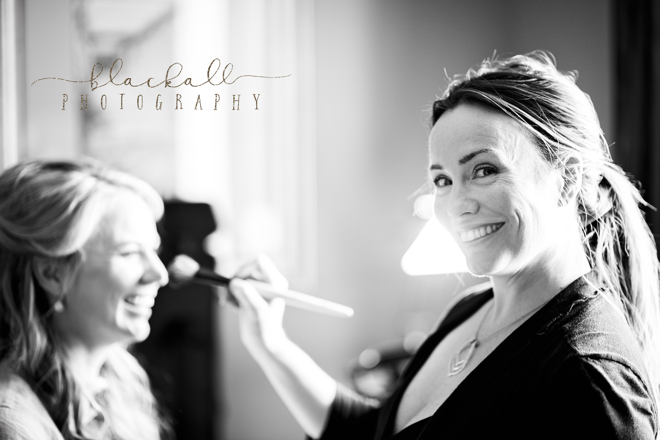 Sabrina with Kiss Her Face Bridal doing what she does best! :)